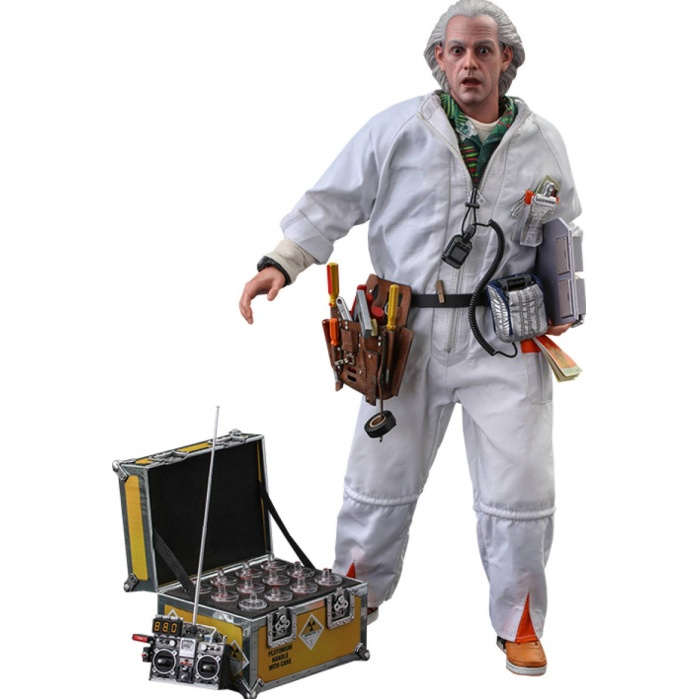 Back to the Future: Deluxe Doc Brown 1:6 Scale Figure Hot Toys Product