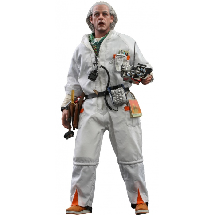 Back to the Future: Doc Brown 1:6 Scale Figure Hot Toys Product