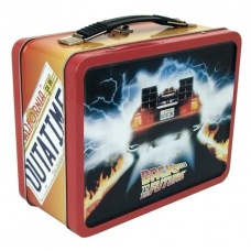 Back to the Future: Outatime Tin Tote | Factory Entertainment