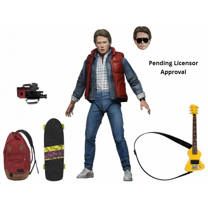 Back to the Future: Ultimate Marty 7 inch Action Figure NECA Product