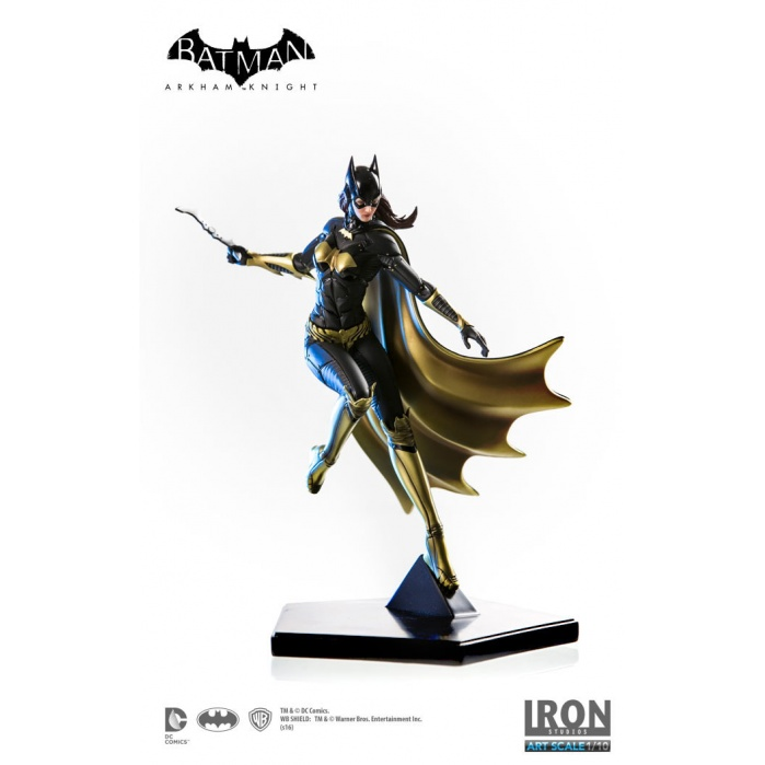 Batgirl Arkham Knight Statue Iron Studios Product