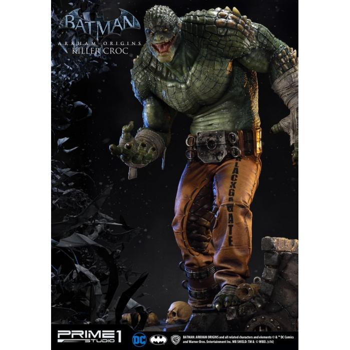 Batman Arkham Origins 1/3 Statue Killer Croc Prime 1 Studio Product