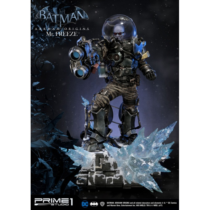 Batman Arkham Origins 1/3  Statue Mr. Freeze Prime 1 Studio Product