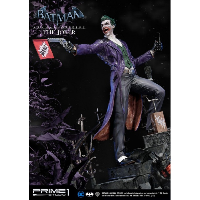 Batman Arkham Origins Statue The Joker 86 cm Prime 1 Studio Product