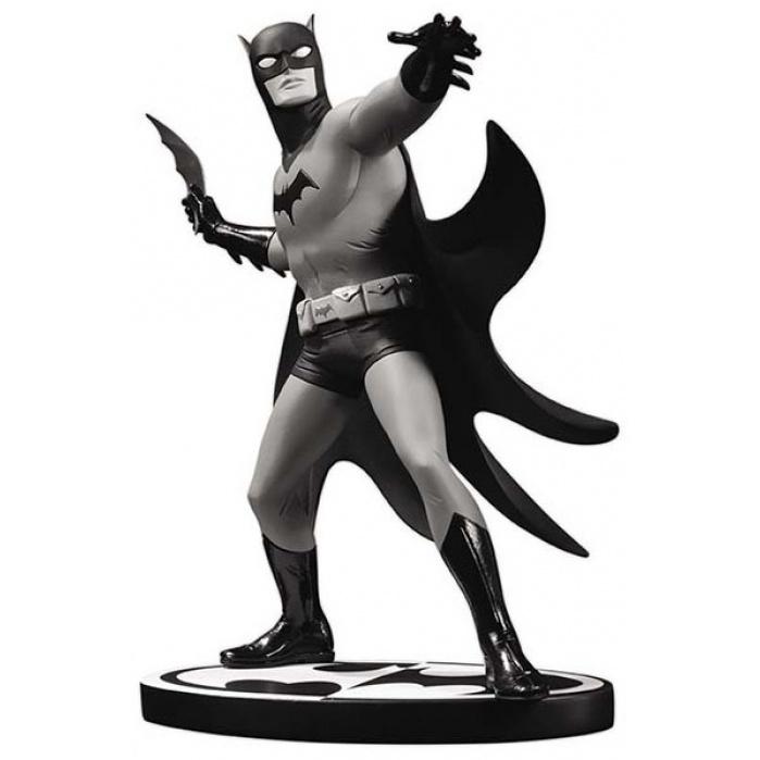 Batman Black & White Statue Michael Allred 18 cm DC Collectibles Product