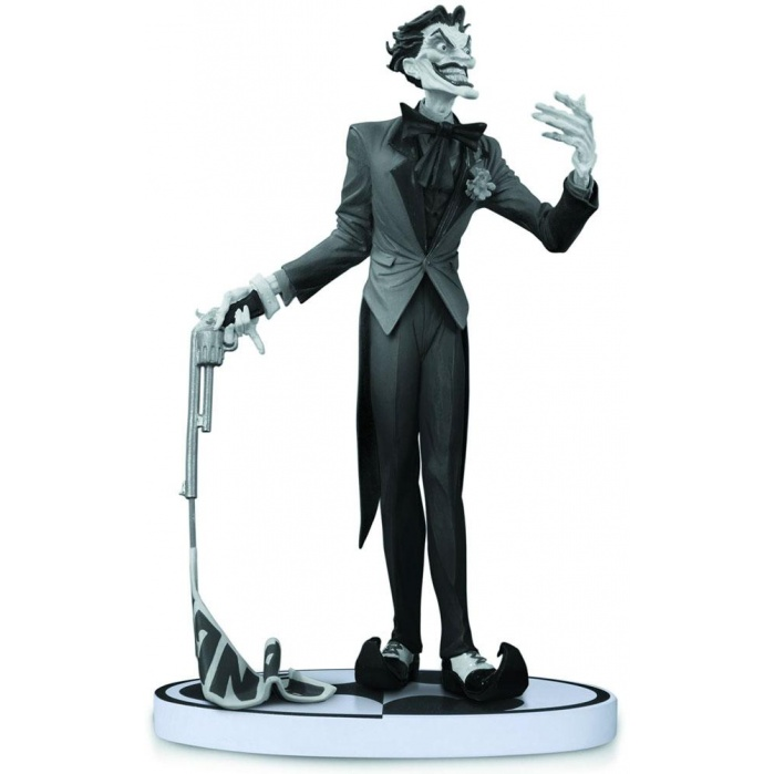 Batman Black & White Statue The Joker 2nd DC Collectibles Product