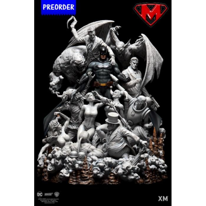 Batman Sanity - Smoke Version 1/6 Premium Collectibles Statue XM Studios Product