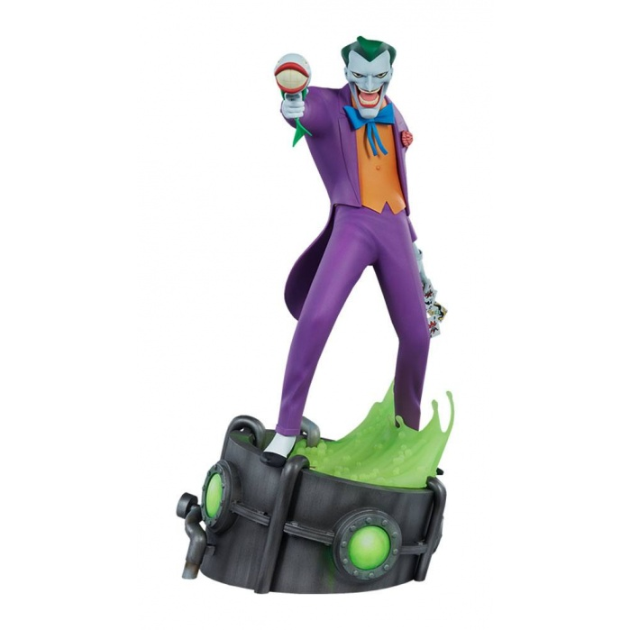 Batman The Animated Series Statue The Joker Sideshow Collectibles Product