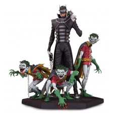 Batman Who Laughs & Robin Minions Statue | DC Collectibles