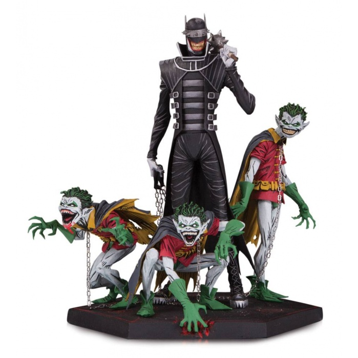 Batman Who Laughs & Robin Minions Statue DC Collectibles Product