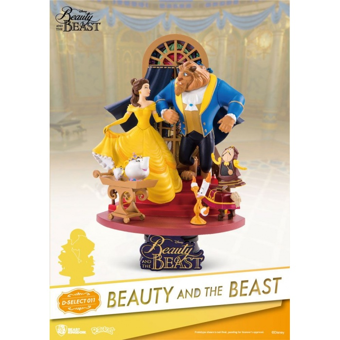 Beauty and the Beast PVC Diorama 1 Beast Kingdom Product