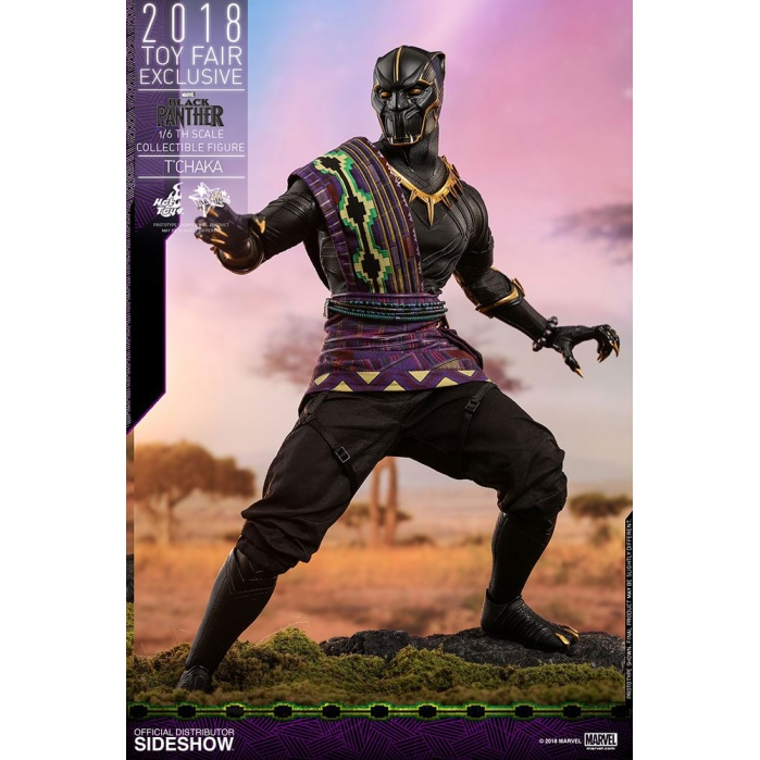 Black Panther  T'Chaka 2018 Toy Fair Exclusive Hot Toys Product