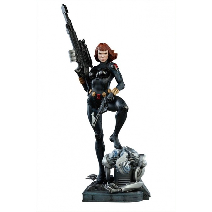 Black Widow 1/4 Premium Format Statue Sideshow Collectibles Product