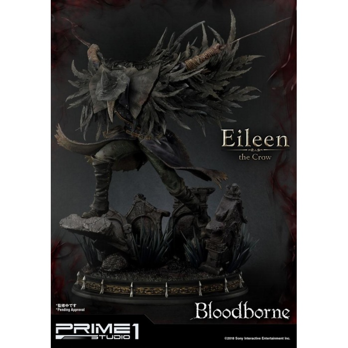 Bloodborne The Old Hunters Statue Eileen The Crow Prime 1 Studio Product