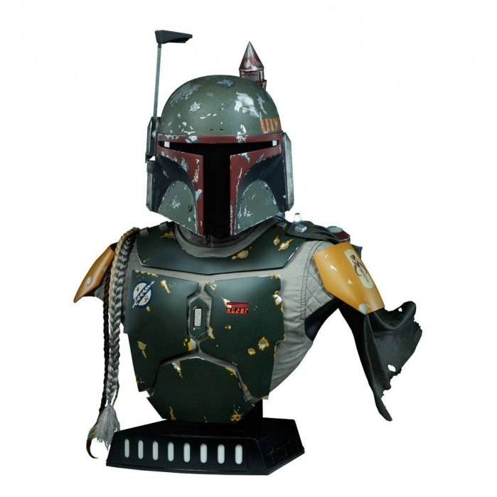 Boba Fett Star Wars Life-Size Bust Sideshow Collectibles Product