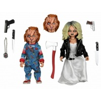 Bride of Chucky: Chucky and Tiffany 2-Pack Clothed Action Figure 8 inch Scale Action Figure NECA Product