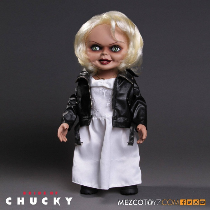 Bride of Chucky Talking Tiffany Doll 38 cm Mezco Toyz Product