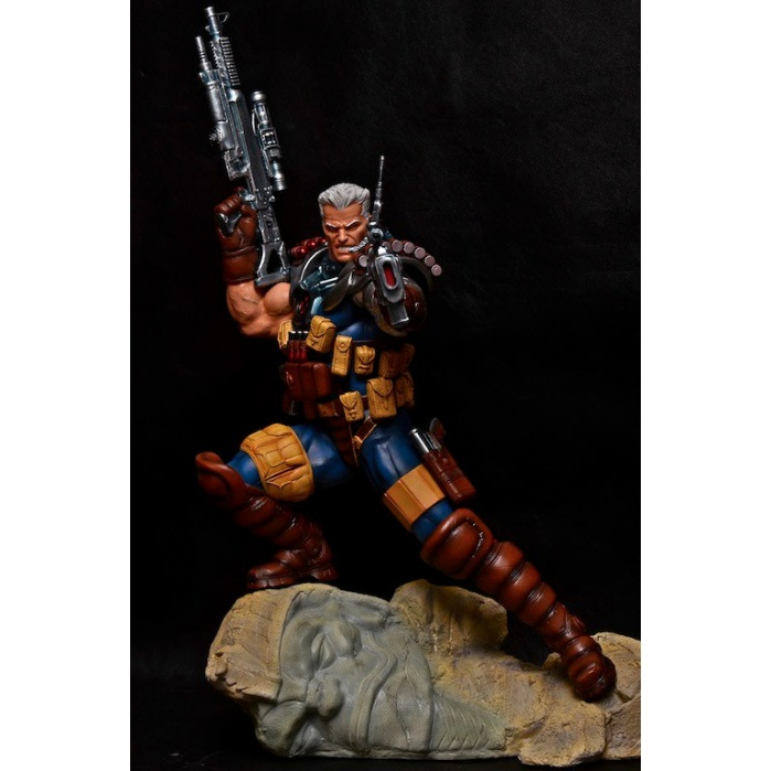 Cable Retro Salt and Pepper Custom 1/4 Scale Statue Salt and Pepper Statues Product