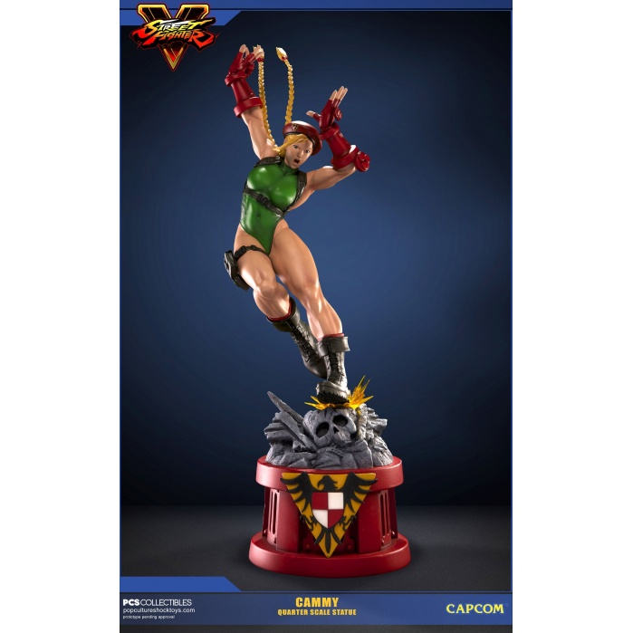 Cammy Streetfighter Statue Pop Culture Shock Product