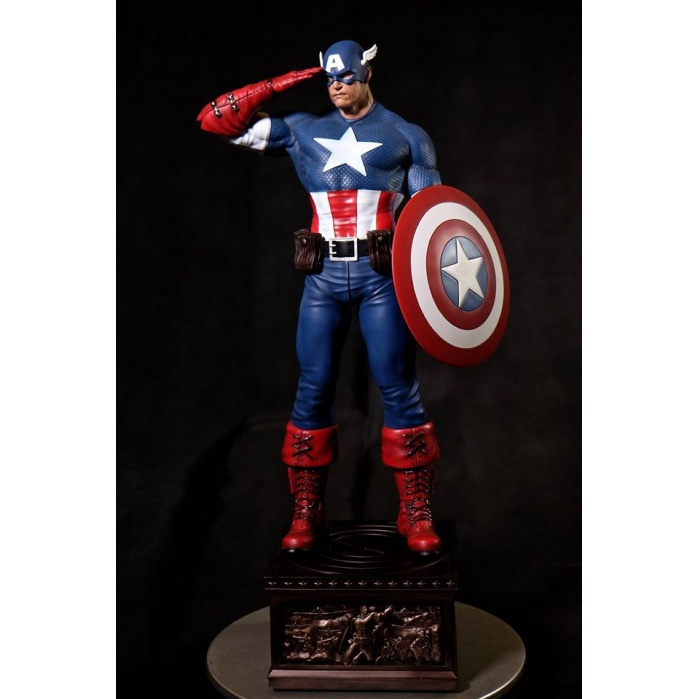 Captain America Sentinel Of Liberty 1/4 Statue XM Studios Product