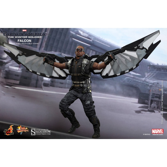 Captain America The Winter Soldier falcon 1/6 Hot Toys Product