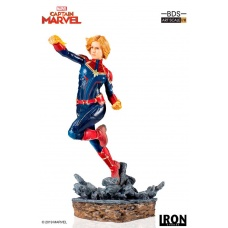 Captain Marvel 1:10 Scale Statue Iron Studios Product Image