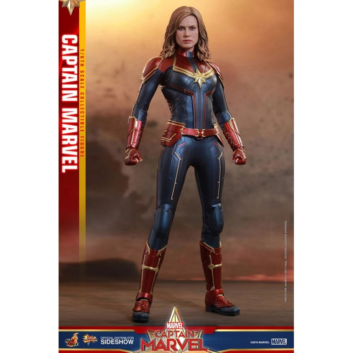 Captain Marvel Movie Masterpiece Action Figure 1/6 Hot Toys Product