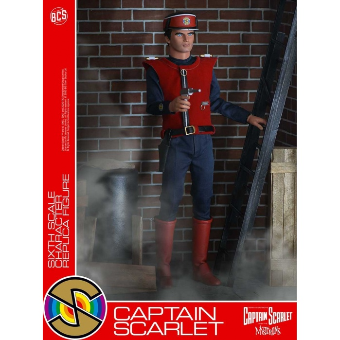 Captain Scarlet: Captain Scarlet Spectrum 1:6 Scale Figure Big Chief Studios Product
