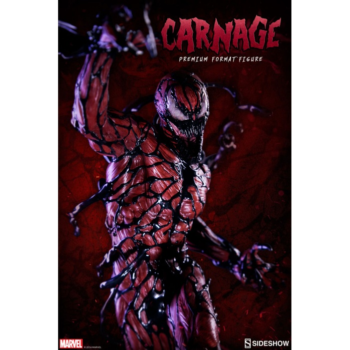 Carnage 1/4 Premium Format Figure Sideshow Collectibles Product