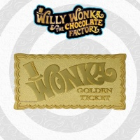 Charlie and the Chocolate Factory: Willie Wonka Golden Ticket Replica Fanatik Product