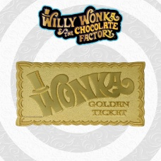 Charlie and the Chocolate Factory: Willie Wonka Golden Ticket Replica | Fanatik