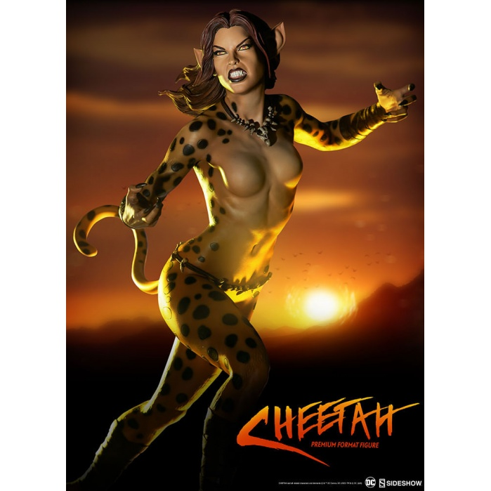 Cheetah 1/4 Premium Format Figure Sideshow Collectibles Product
