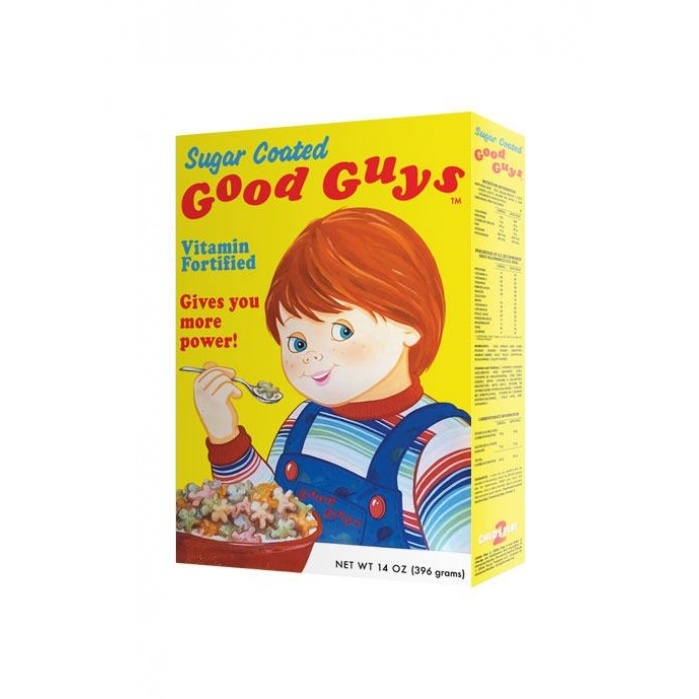 Child's Play 2 Replica 1/1 Good Guys Cereal Box Trick or Treat Studios Product