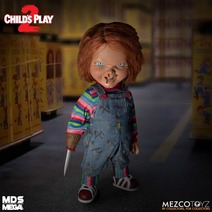 Child's Play: Mega Scale Talking Menacing Chucky 15 inch Action Figure Mezco Toyz Product