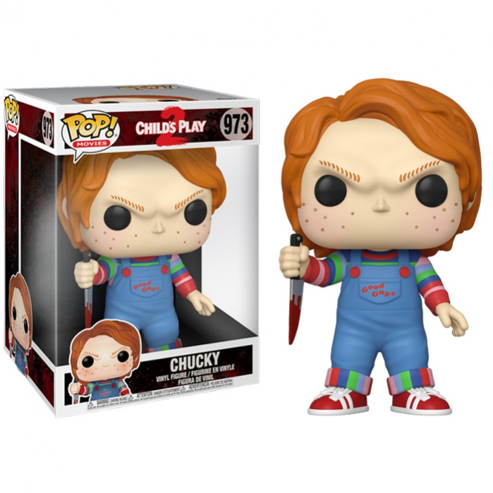 Child´s Play Super Sized POP! Movies Vinyl Figure Chucky 25 cm Funko Product