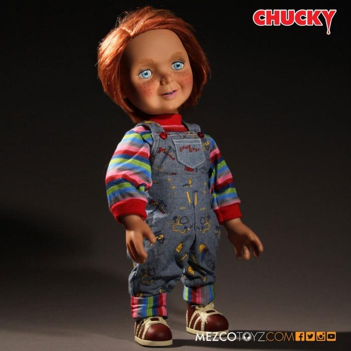 Child´s Play Talking Good Guys Chucky Mezco Toyz Product