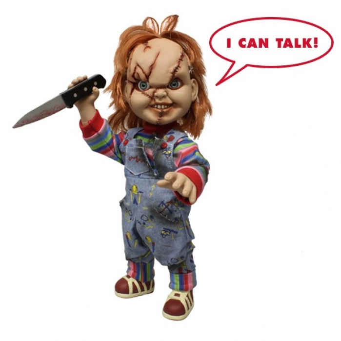 Chucky Talking Mega Scale 15 inch Mezco Toyz Product