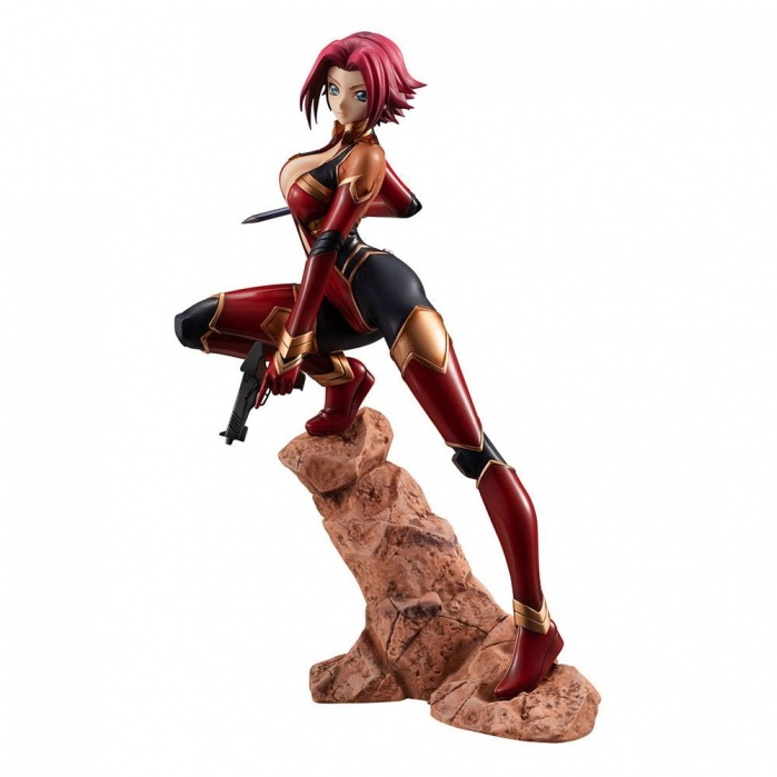 Code Geass: Resurrection Lelouch G.E.M. PVC Statue 1/8 Kouzuki Karen Pilot Suit Version 20 cm MegaHouse Product