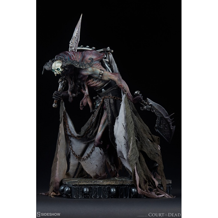 Court of the Dead: Oglavaeil Dreadsbane Enforcer Premium Statue Sideshow Collectibles Product