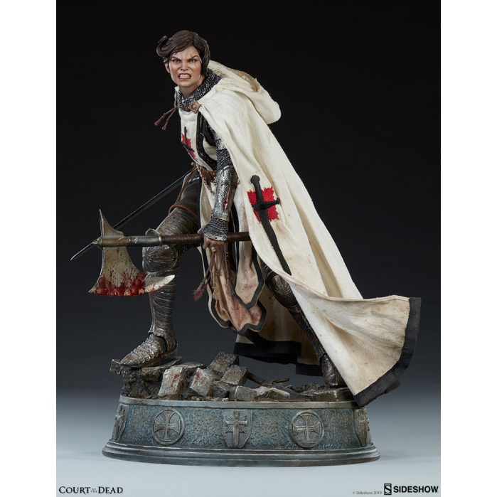 Court of the Dead: Shard - Faith Bearer's Fury Premium Statue Sideshow Collectibles Product