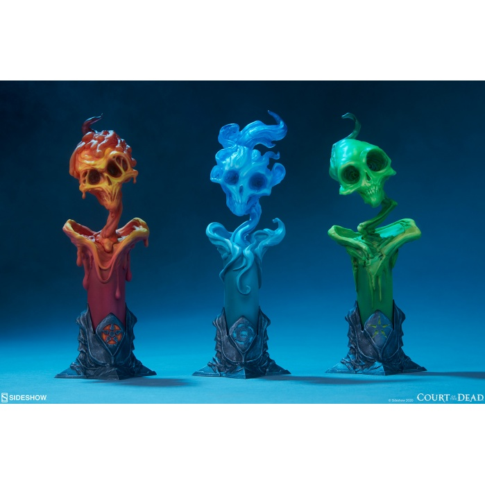Court of the Dead: The Lighter Side of Darkness - Faction Candle Statue Set Sideshow Collectibles Product