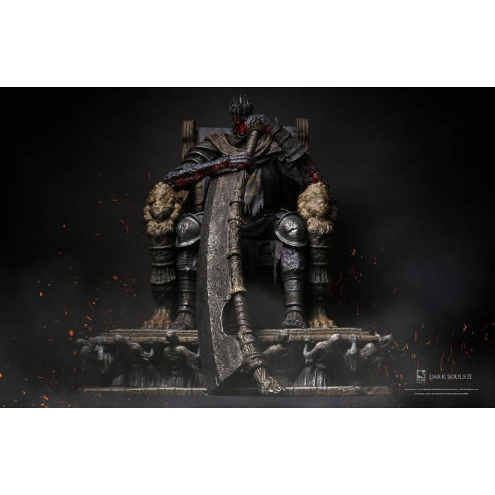 Dark Souls 3: Yhorm 1:12 Scale Statue with LED system Pure Arts Product
