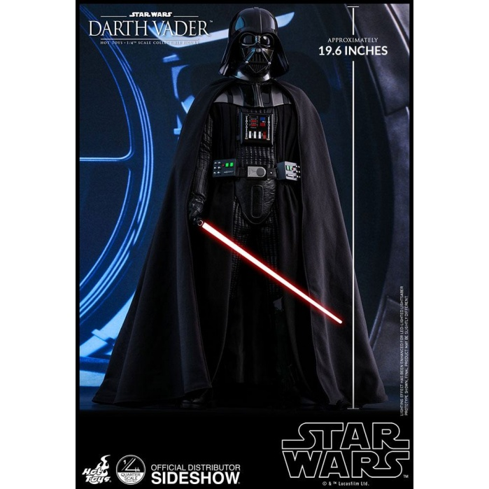 Darth Vader Star Wars Episode VI Figure 1/4 Hot Toys Product