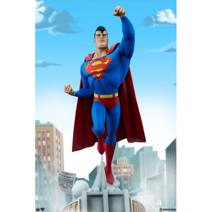 DC Animated Series Collection Statue Superman 50 cm Sideshow Collectibles Product