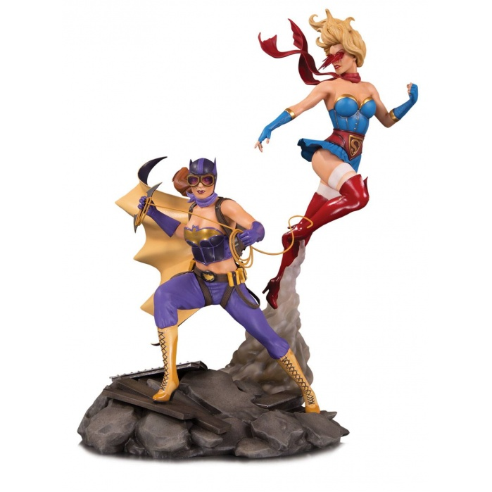 DC Bombshells Statue Batgirl & Supergirl Celebration 1/6 DC Collectibles Product