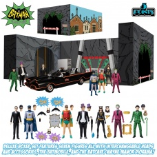 DC Comics: 5 Points - Batman 1966 Deluxe Action Figure Box Set | Mezco Toyz