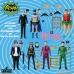 DC Comics: 5 Points - Batman 1966 Deluxe Action Figure Box Set Mezco Toyz Product