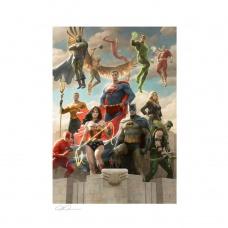DC Comics Art Print Justice League: Classic Variant 46 x 61 cm - unframed - Sideshow Collectibles (EU)