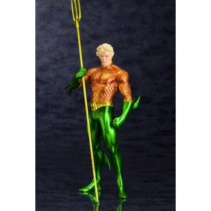 DC Comics ARTFX+ PVC Statue 1/10 Aquaman (The New 52) Kotobukiya Product