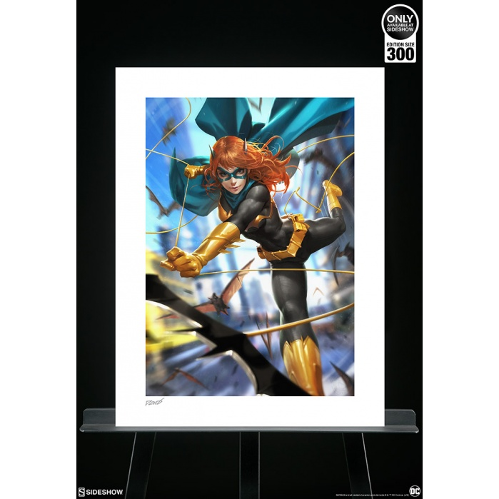 DC Comics: Batgirl #32 Unframed Art Print by Derrick Chew Sideshow Collectibles Product